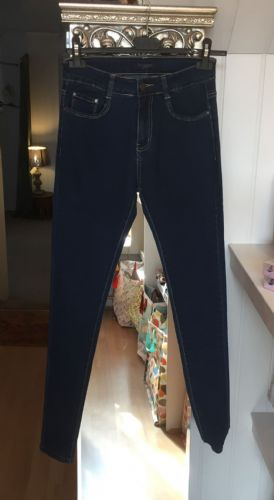 Skinny Fashion Jeans - Dark Blue